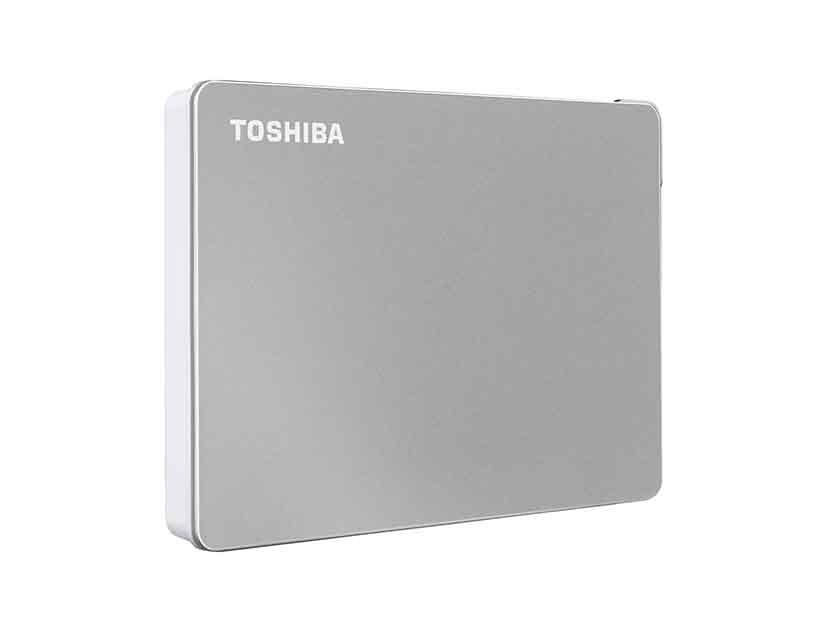 HDD  EXTERNO TOSHIBA 1TB CANVIO FLEX ( HDTX110XSCAA ) SILVER | USB 3.0 + USB-C
