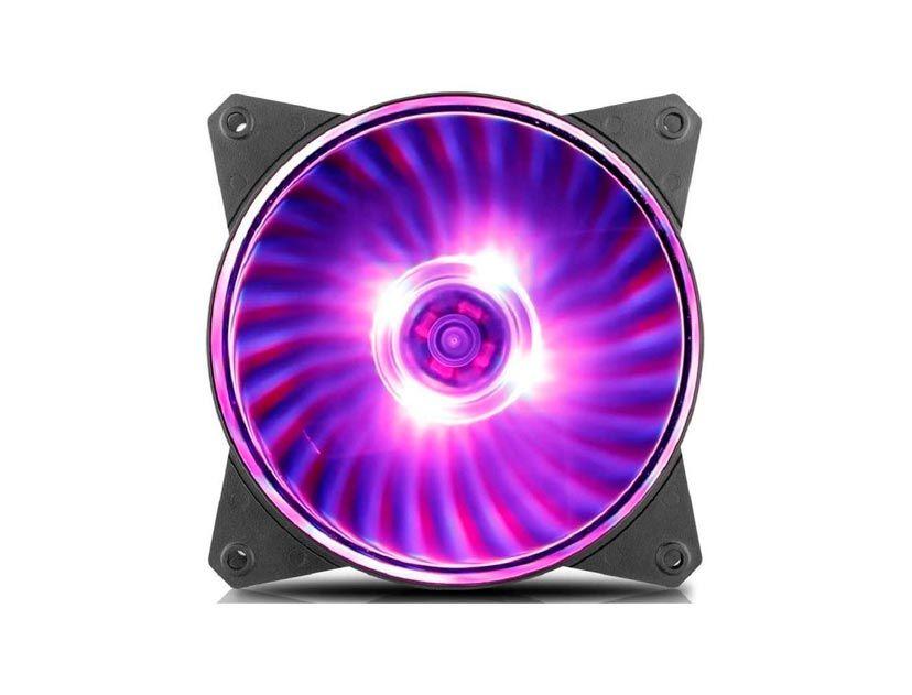 COOLER PARA CASE COOLER MASTER MASTERFAN MF120L ( R4-C1DS-12FC-R1 ) 120MM | LED-