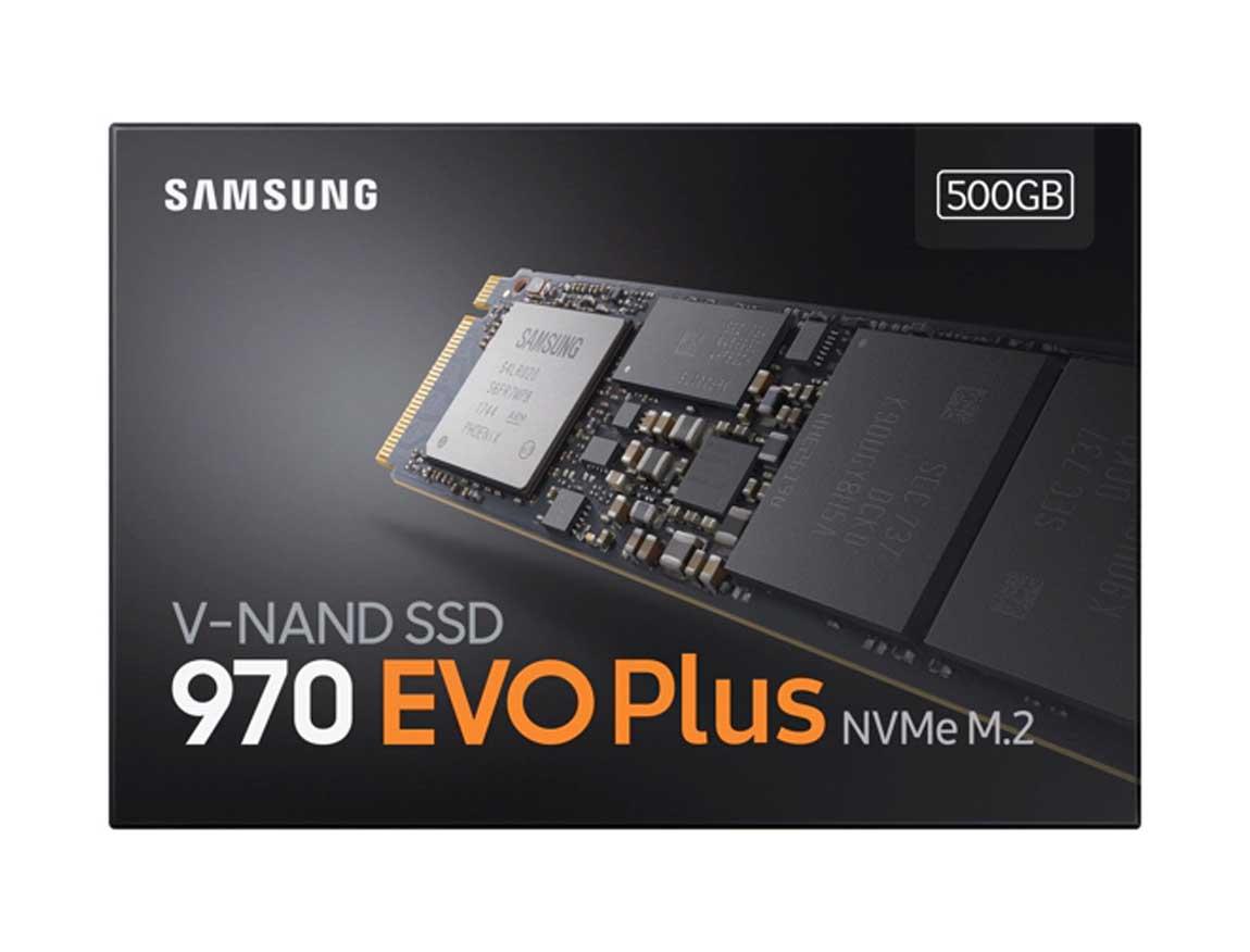 SSD  M.2 SOLIDO SAMSUNG 500GB ( MZ-V7S500B/AM ) 970 EVO PLUS   NVME