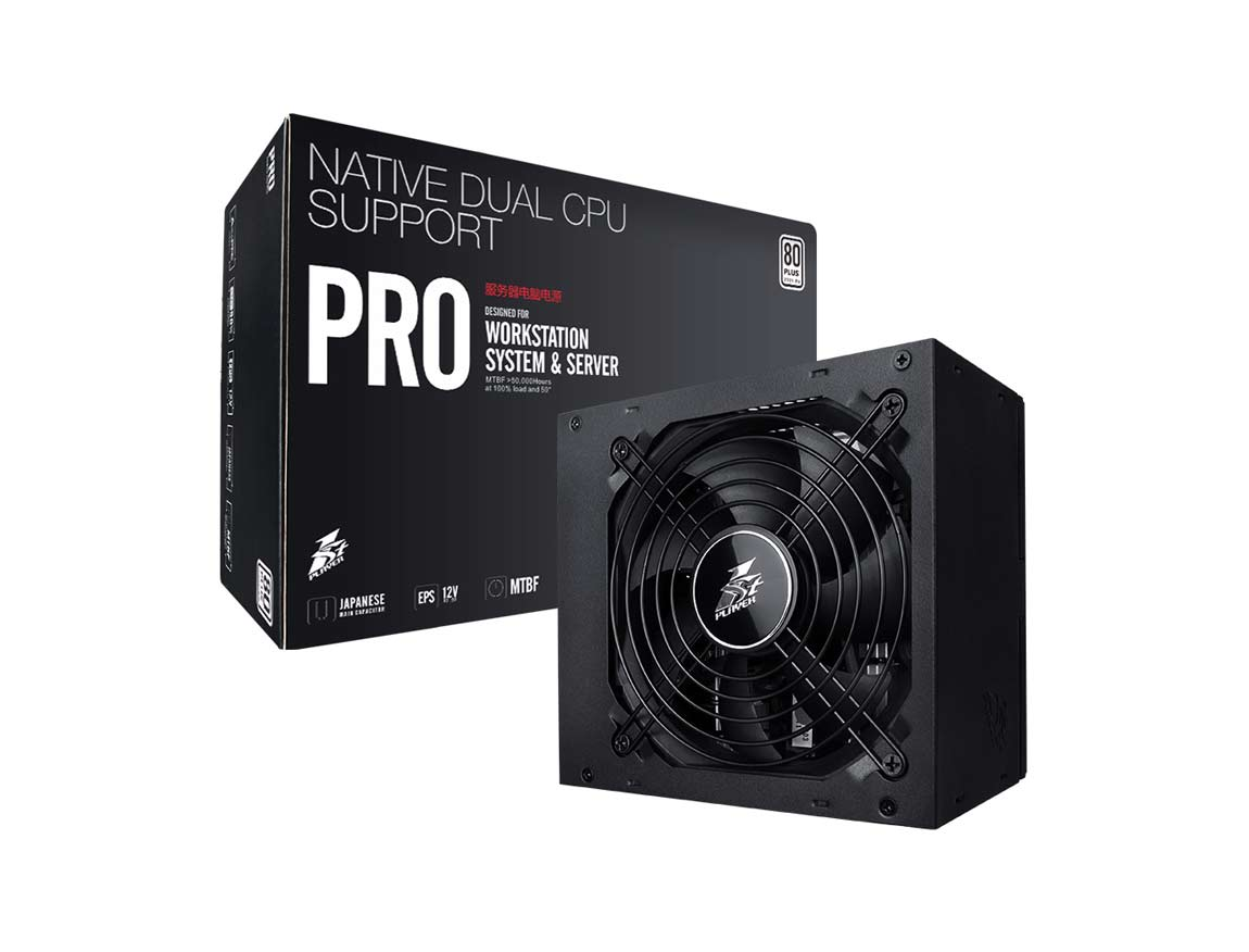 FUENTE 1STPLAYER PRO 600W ( PS-600EUW ) 600W