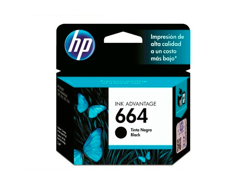 CARTUCHO HP 664 ( F6V29AL ) NEGRO - 1115 / 3635 / 4535 +