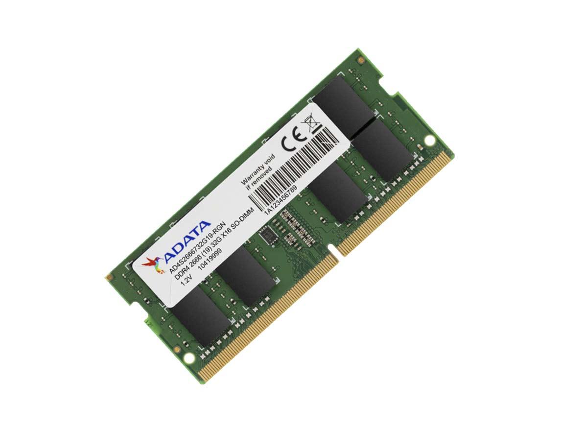 MEM. SODIMM ADATA DDR4 8GB/2666 ( AD4S266688G19-SGN )