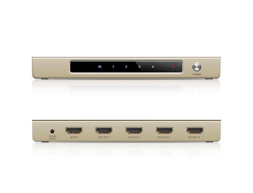 DIVISOR DE HDMI UGREEN ( 6957303826698 ) 4 PUERTOS