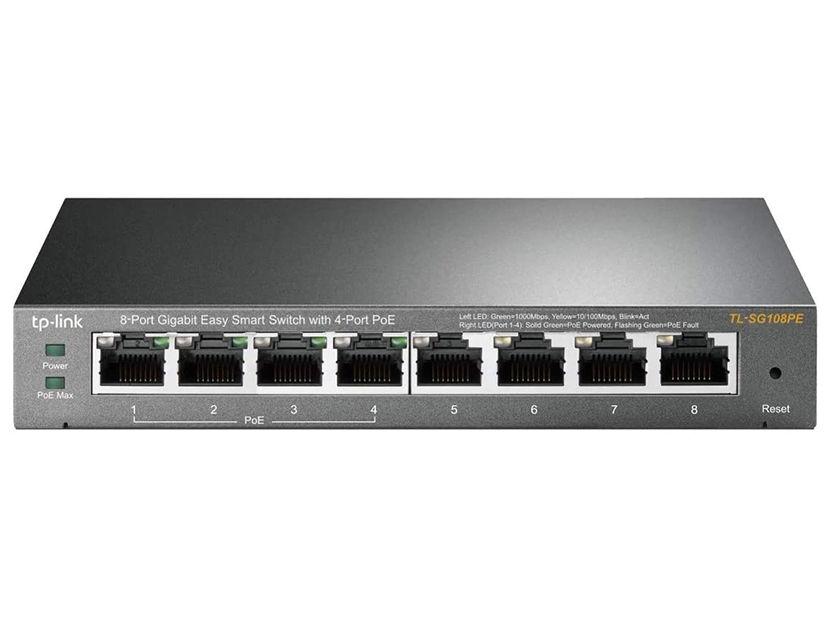 SWITCH TP-LINK 8 PUERTOS ( TL-SG108PE ) 10/100/100