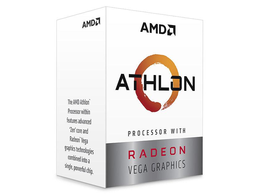 PROC. AMD ATHLON 240GE ( YD240GC6FBBOX ) 3.5GHZ-5.0MB | AM4