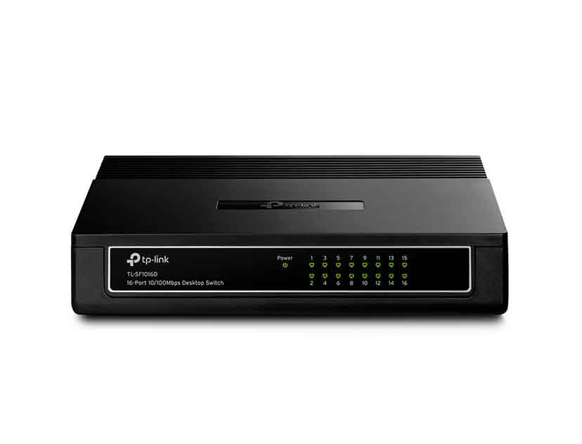 SWITCH TP-LINK 16 PUERTOS ( TL-SF1016D ) 10/100 MBPS