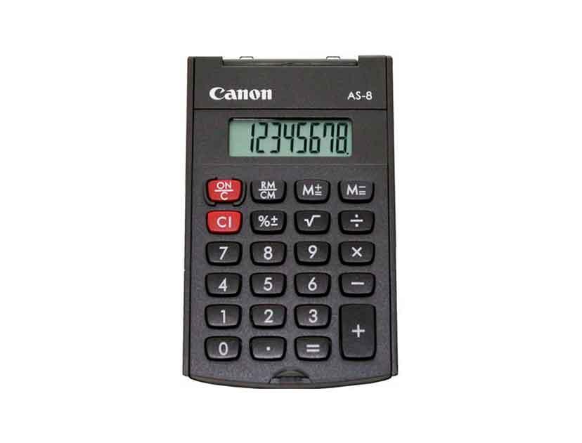 CALCULADORA CANON AS-8 ( 4598B001AB )
