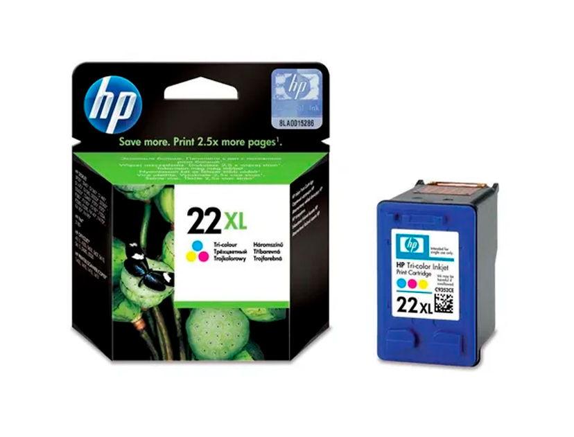 CARTUCHO HP 22XL ( C9352CL ) TRICOLOR - D1320 / J3640 / 1250 +