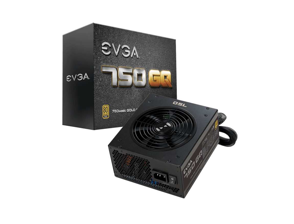 FUENTE EVGA 750GQ ( 210-GQ-0750-V1 ) 750W | GOLD | SEMI- MODULAR
