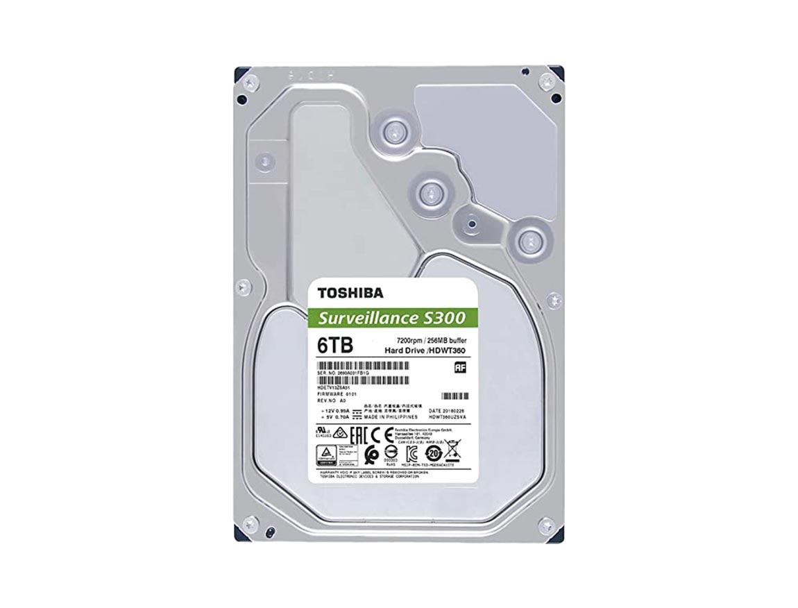 HDD  TOSHIBA 6TB ( HDWT360UZSVA ) 256MB | 7200RPM | VIGILANCIA