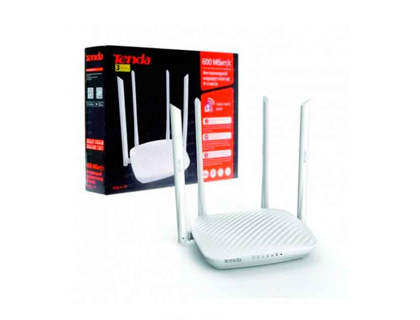 ROUTER INALAMBRICO TENDA ( F9 ) 600MBPS