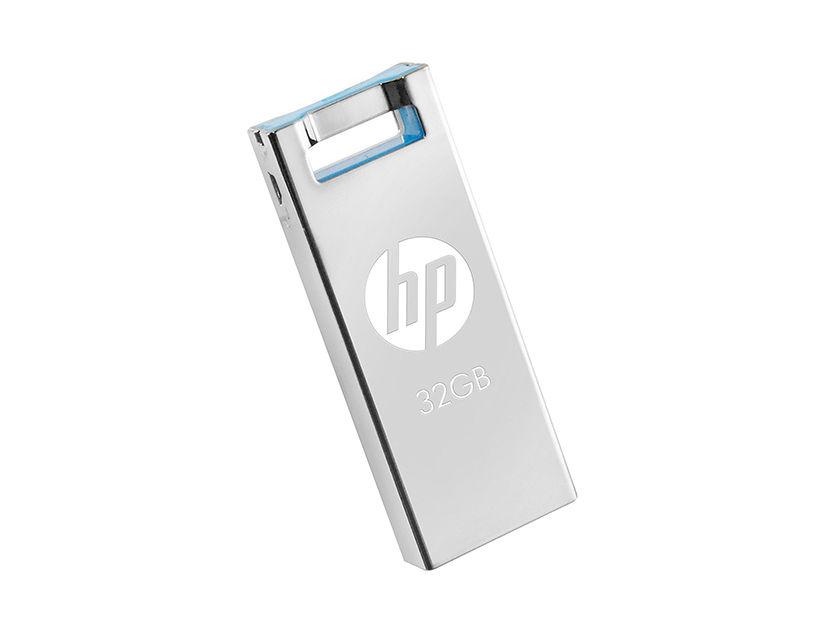 MEM. USB HP V295W 32GB ( HPFD295W-32 ) PLATA