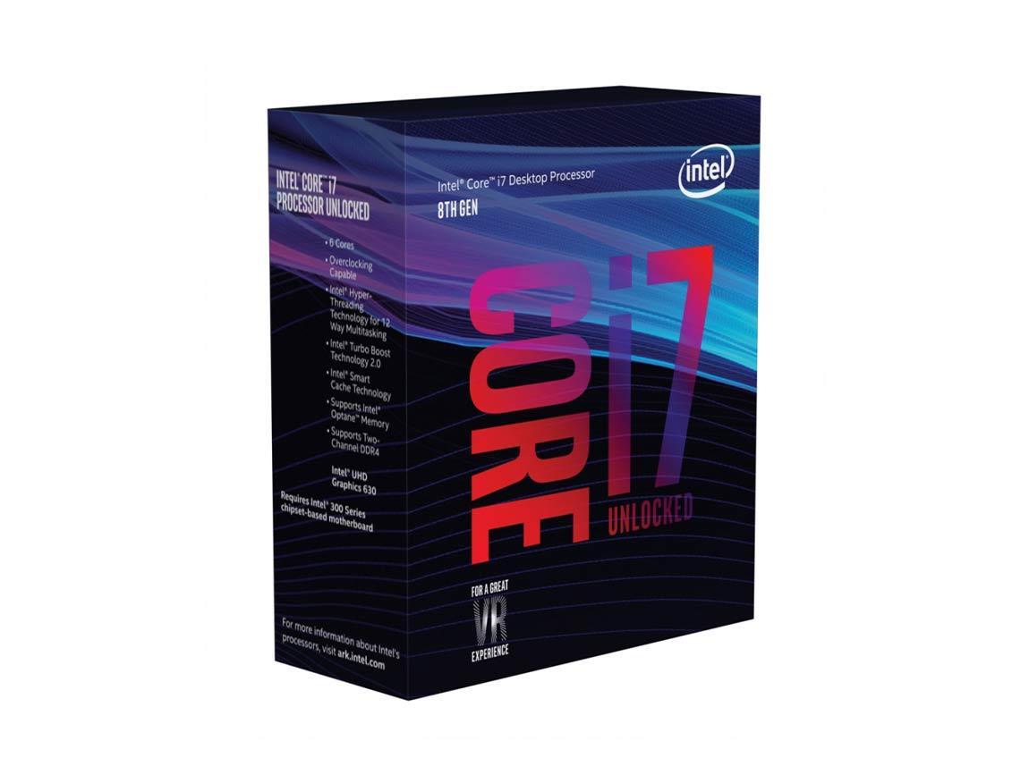 PROC. INTEL CORE I7 8700K ( BX80684I78700K ) 3.7GHZ-12.0MB | LGA 1151 | S/ COOLER