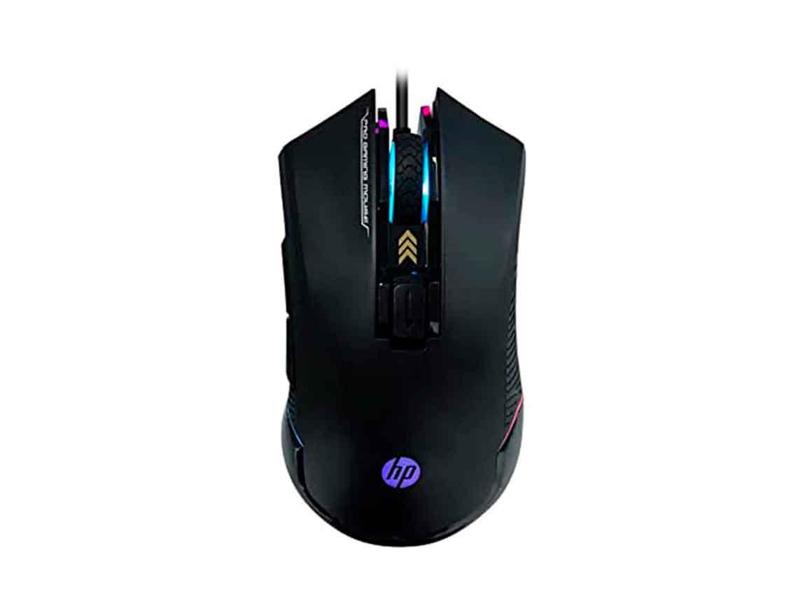 MOUSE HP G360 ( 4QM92AA#UUF ) GAMING | NEGRO | LED- RGB