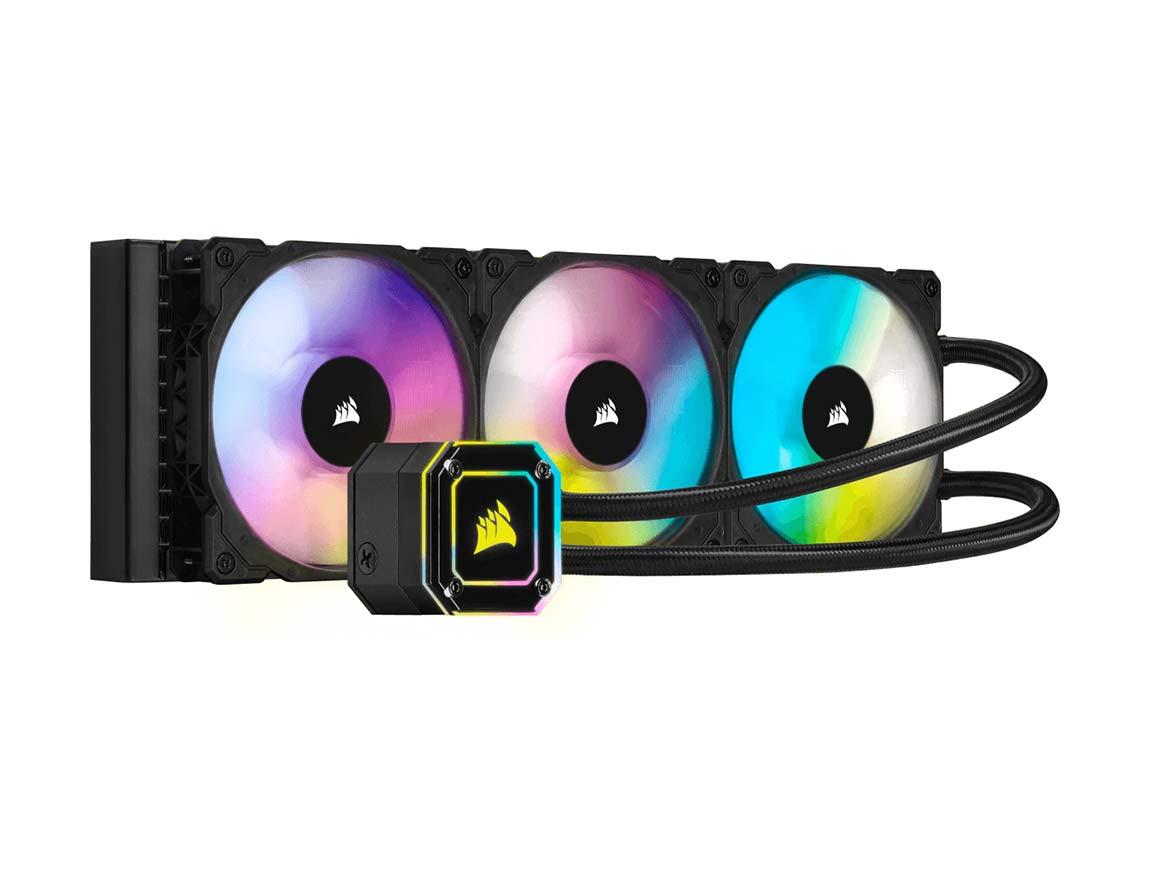 SISTEMA DE ENFRIAMIENTO LIQUIDO CORSAIR ICUE H150I ELITE CAPELLIX ( CW-9060048-WW ) 360MM |  LED - RGB