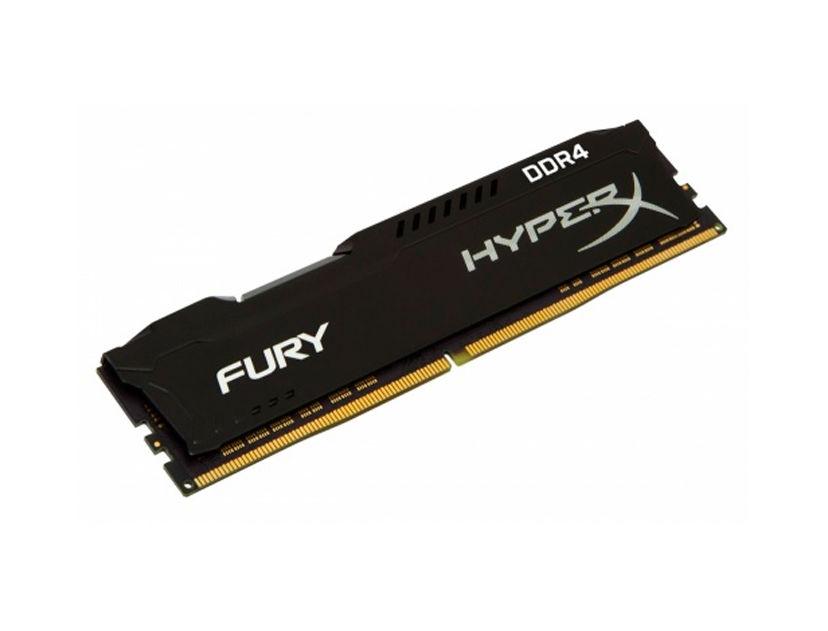 MEM. RAM HYPERX FURY DDR4 8GB/2400 ( HX424C15FB2/8 ) NEGRO