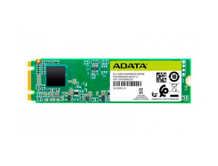SSD M.2 SOLIDO ADATA 480GB ( ASU650NS38-480GT-C )