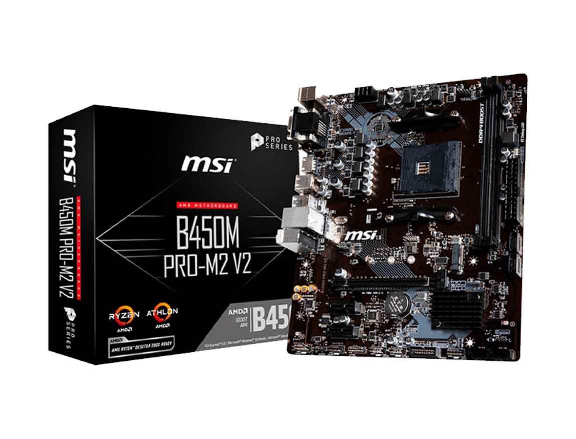 MB MSI B450M PRO-M2 ( 911-7B84-019 ) AM4