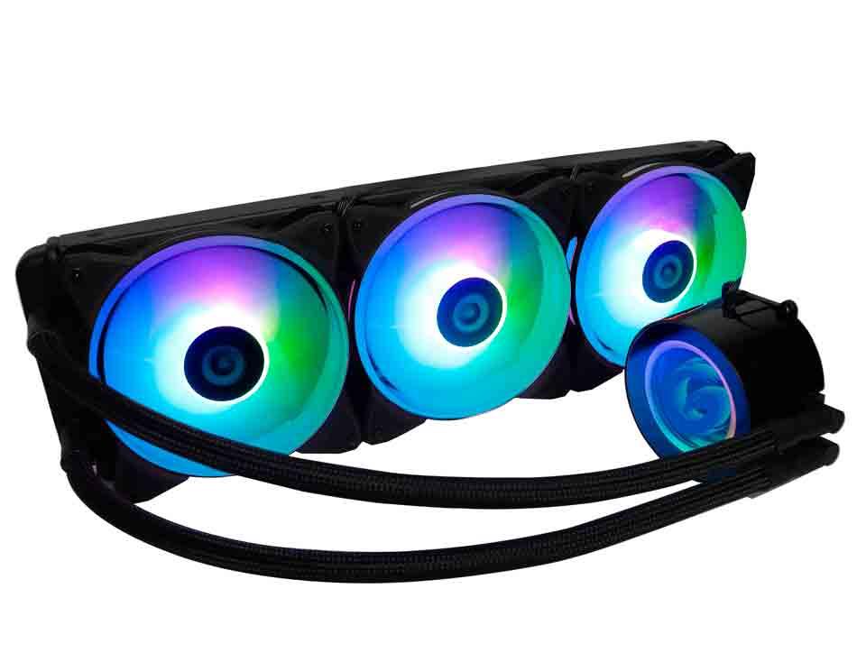SISTEMA DE ENFRIAMIENTO LIQUIDO GAMBYTE HYDRO BLASTER HZ360 ( HZ-360R-ARGB ) LED