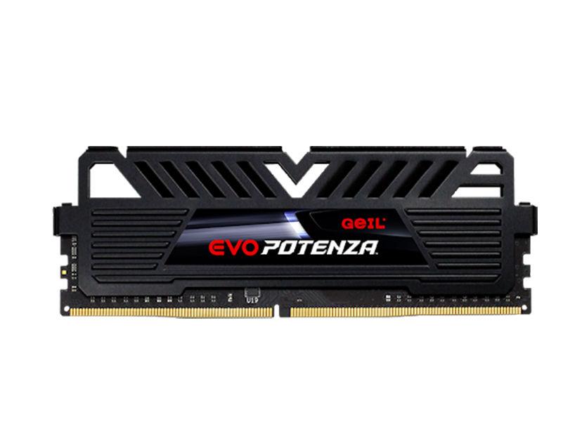 MEM. RAM GEIL EVO POTENZA DDR4 8GB/3200 ( GAPB48GB3200C16ASC ) NEGRO