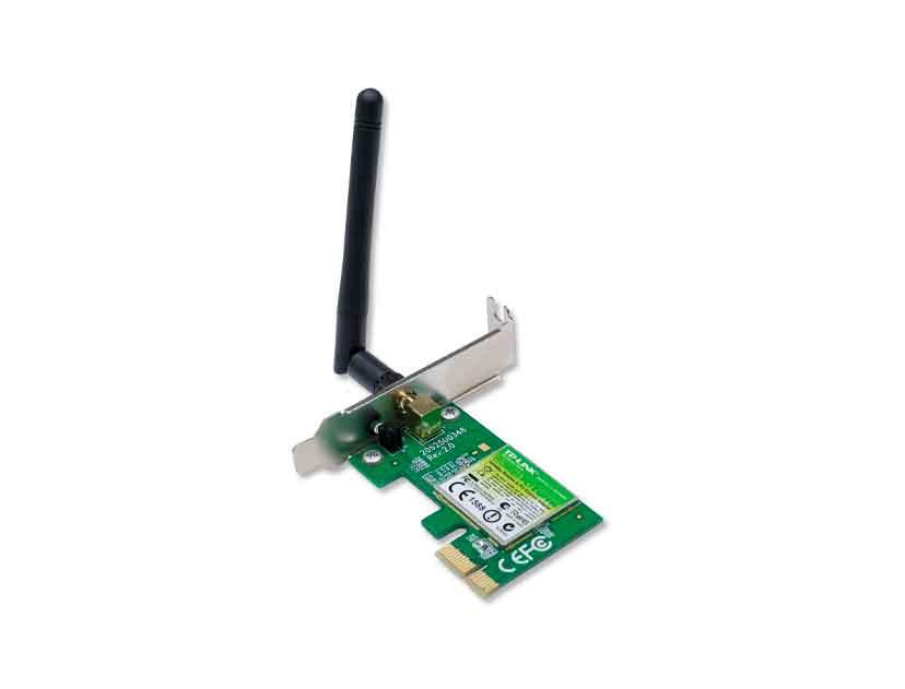 ADAPTADOR PCI EXPRESS INALAMBRICO TP-LINK ( TL-WN781ND ) 150 MBPS
