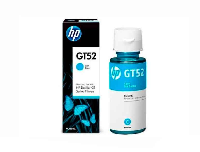 TINTA HP GT52 CIAN ( M0H54AL ) GT 5810 / GT 5820 / 70.0 ML