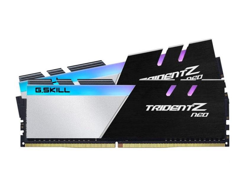 MEM. RAM G.SKILL TRIDENT Z NEO DDR4 16GB(2X8)/3600 ( F4-3600C18D-16GTZN ) NEGRO
