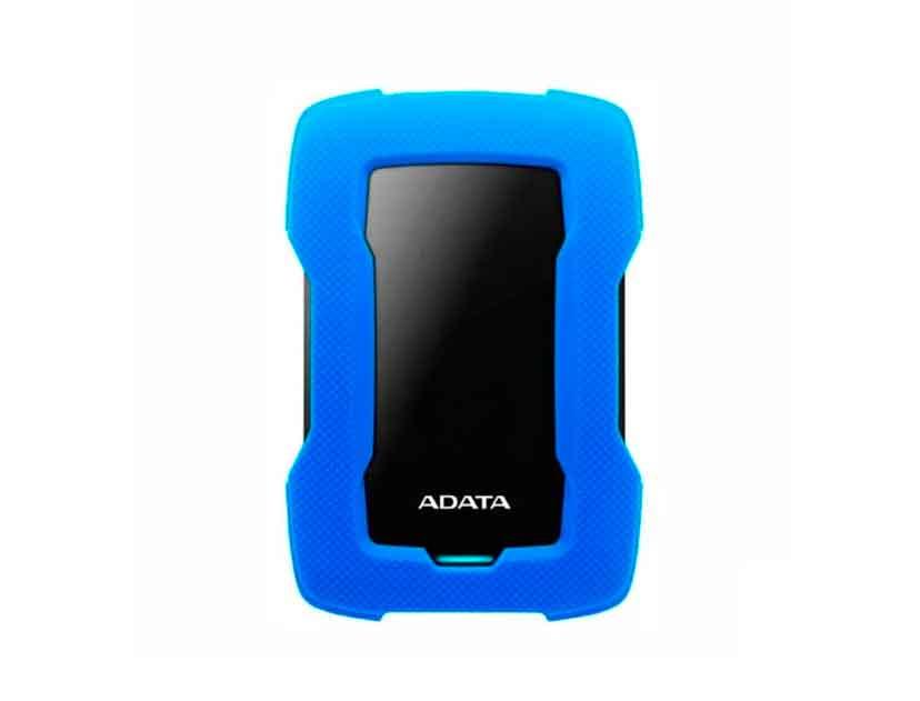 HDD  EXTERNO ADATA 2TB HD330 ( AHD330-2TU31-CBL ) AZUL | ANTI GOLPE