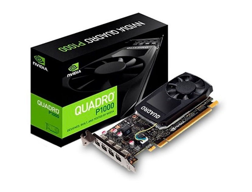 TARJ. VIDEO PNY QUADRO P1000 V2 4GB DDR5 ( VCQP1000V2-PB ) 128 BIT