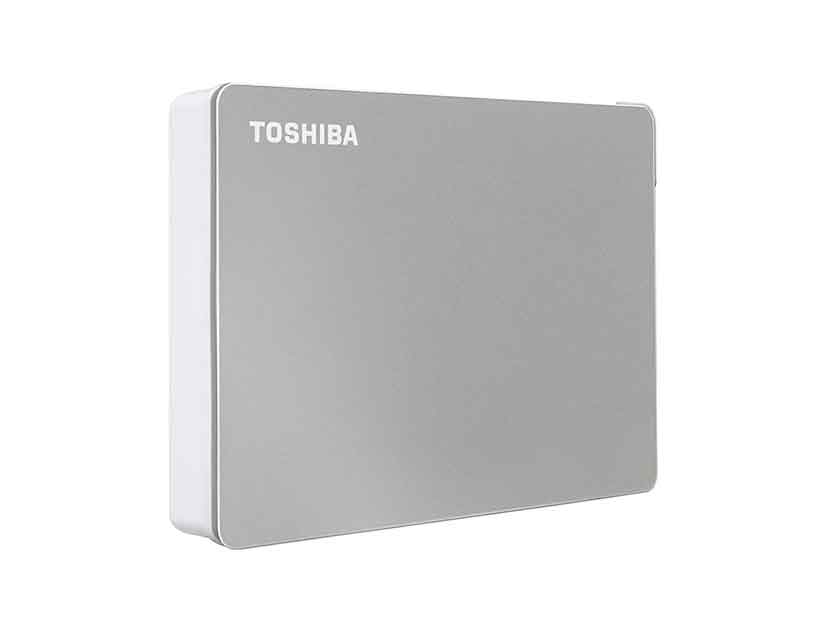 HDD  EXTERNO TOSHIBA 4TB CANVIO FLEX ( HDTX140XSCCA ) SILVER | USB 3.0 + USB-C