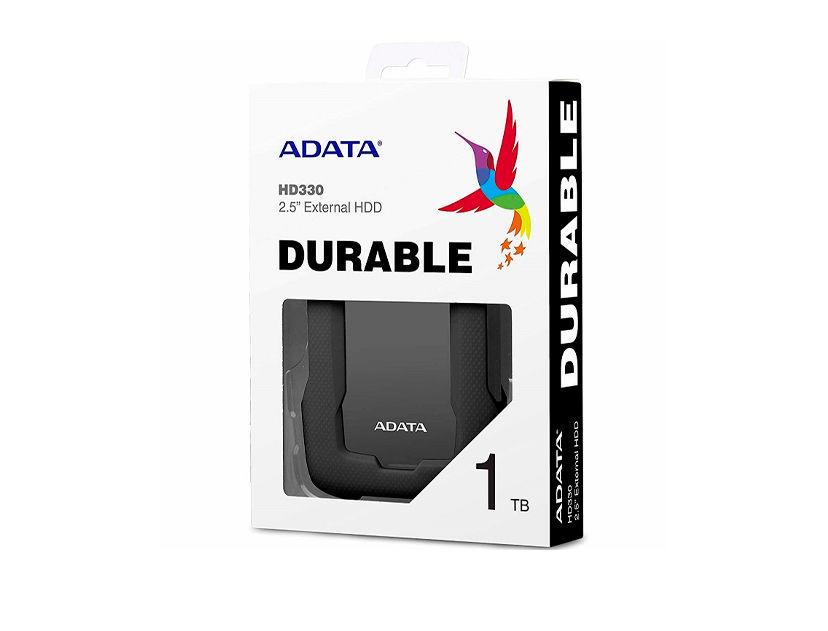 HDD  EXTERNO ADATA 1TB HD330 ( AHD330-1TU31-CBK ) NEGRO | ANTI GOLPE