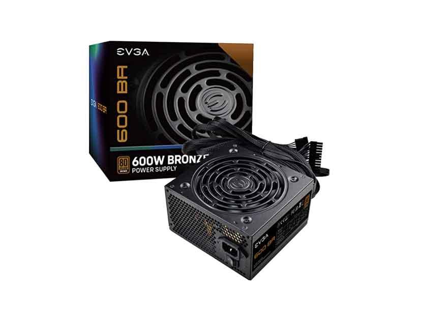 FUENTE EVGA 600 BA ( 100-BA-0600-K1 ) 600W | BRONZE