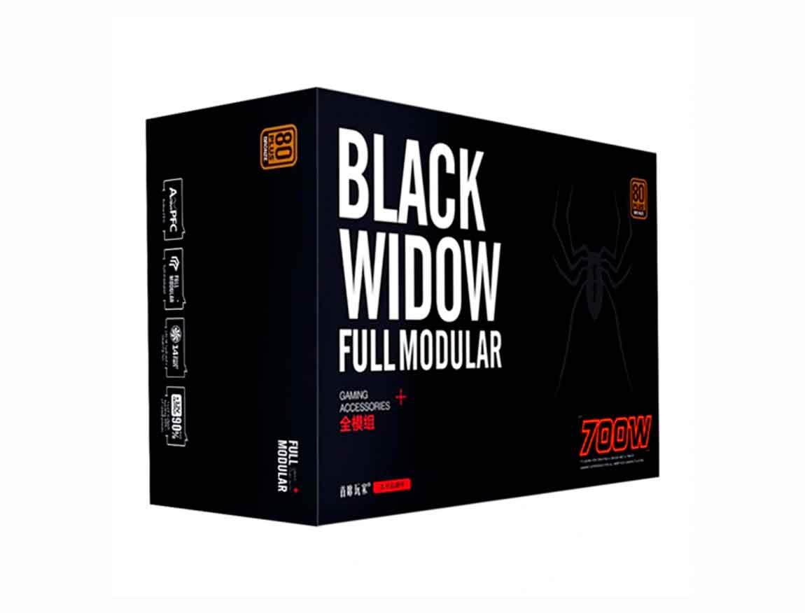 FUENTE 1STPLAYER BLACK WIDOW ( PS-700AX ) 700W   BRONZE   MODULAR
