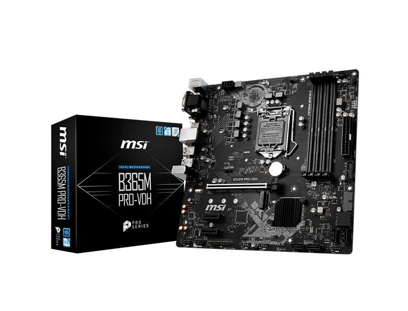 MB MSI B365M PRO-VDH ( B365M PRO-VDH ) LGA 1151
