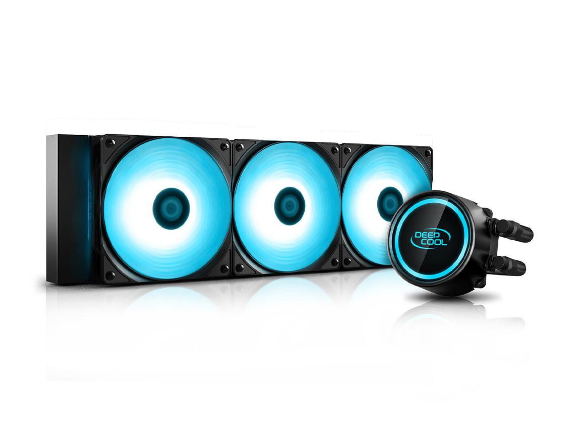 SISTEMA DE ENFRIAMIENTO LIQUIDO DEEP COOL GAMMAXX L360 V2 ( DP-H12RF-GL360V2C ) LED - RGB