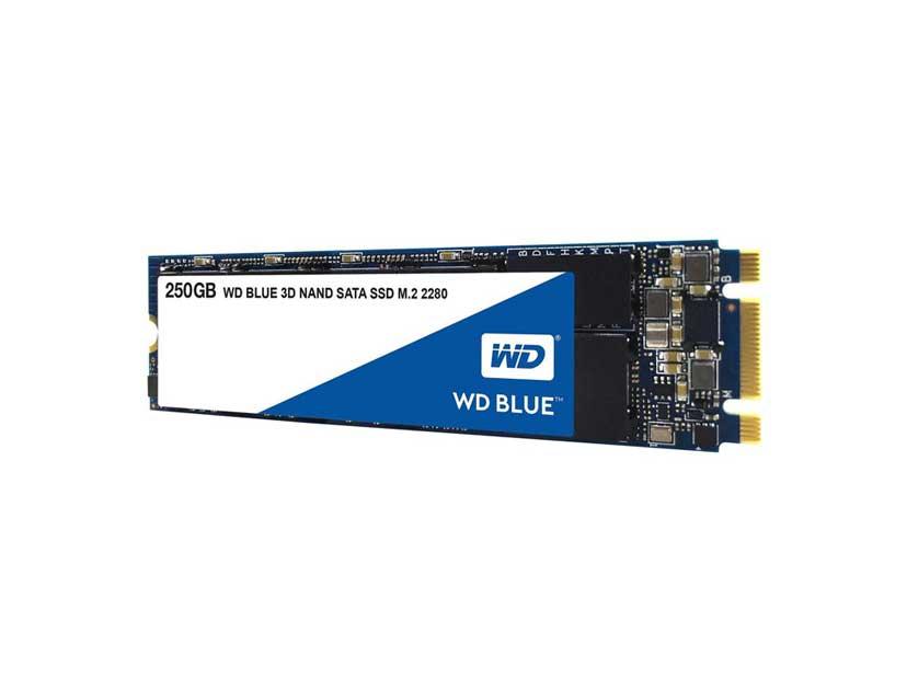 SSD  M.2 SOLIDO WESTER DIGITAL 2280 250GB ( WDS250G2B0B ) AZUL | 80MM
