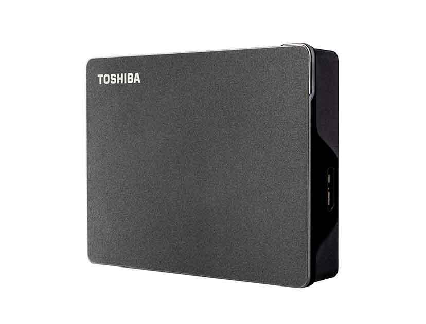 HDD  EXTERNO TOSHIBA 2TB CANVIO GAMING ( HDTX120XK3AA ) NEGRO