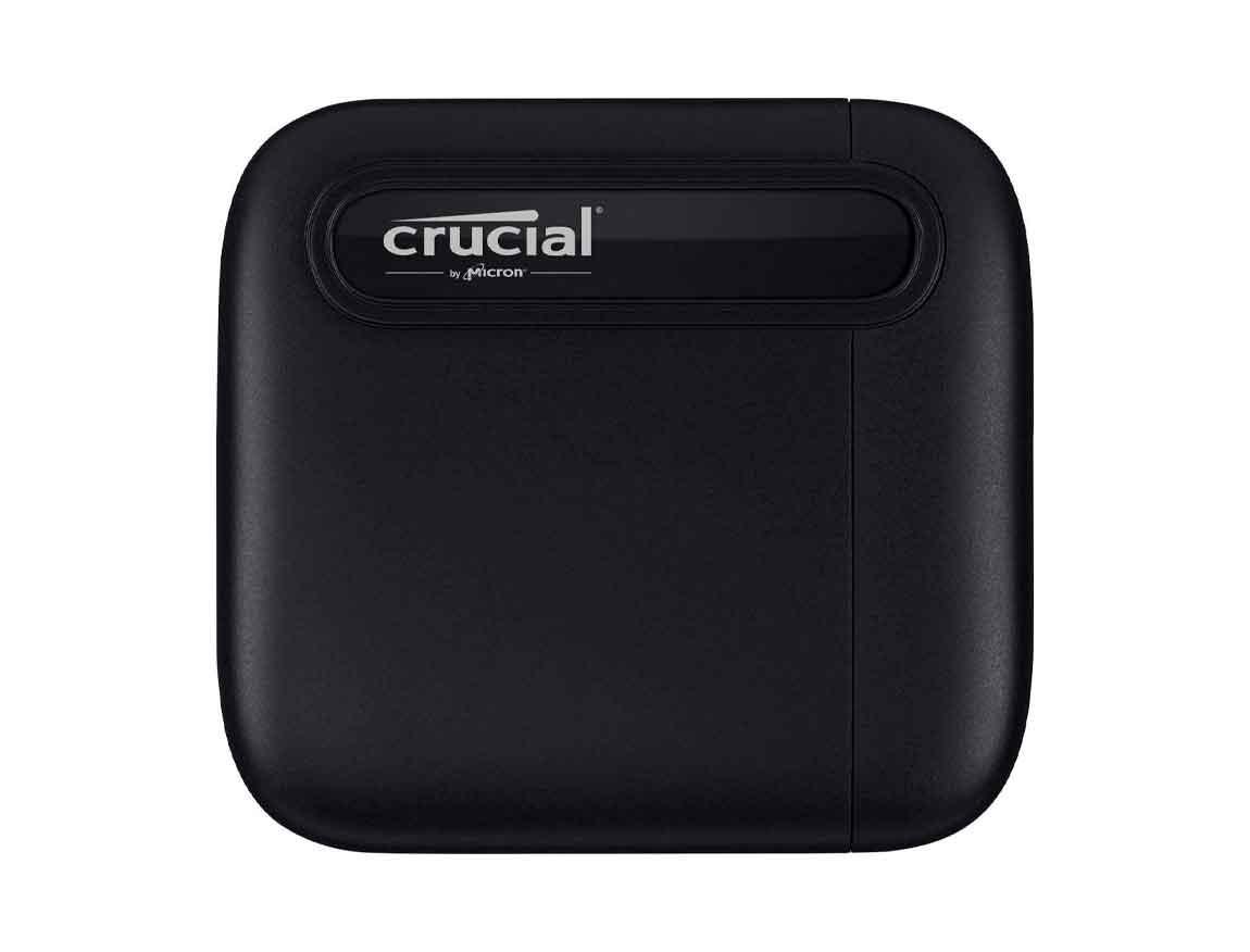 SSD EXTERNO CRUCIAL X6 1TB ( CT1000X6SSD9 ) NEGRO