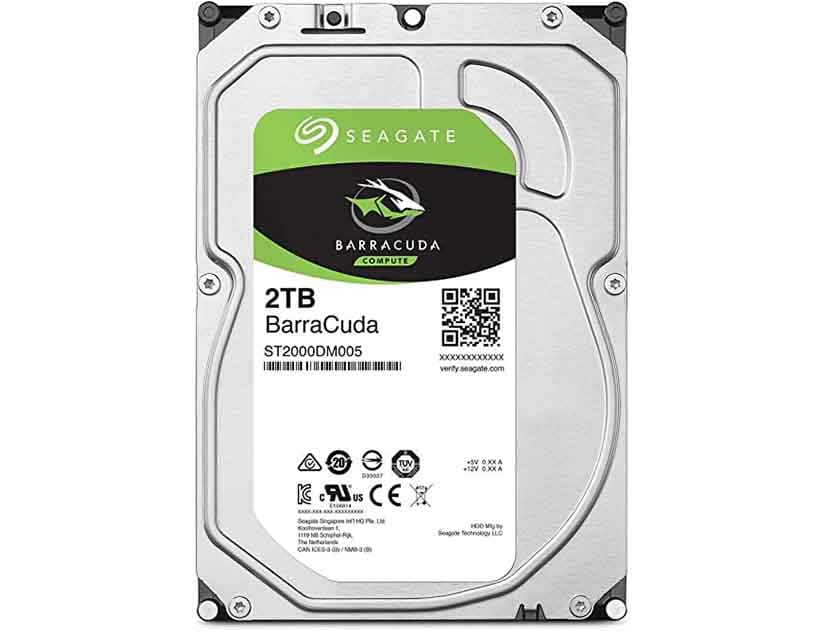 HDD  SEAGATE 2TB ( ST2000DM005 ) VERDE   256MB   5400RPM   COMPUTER