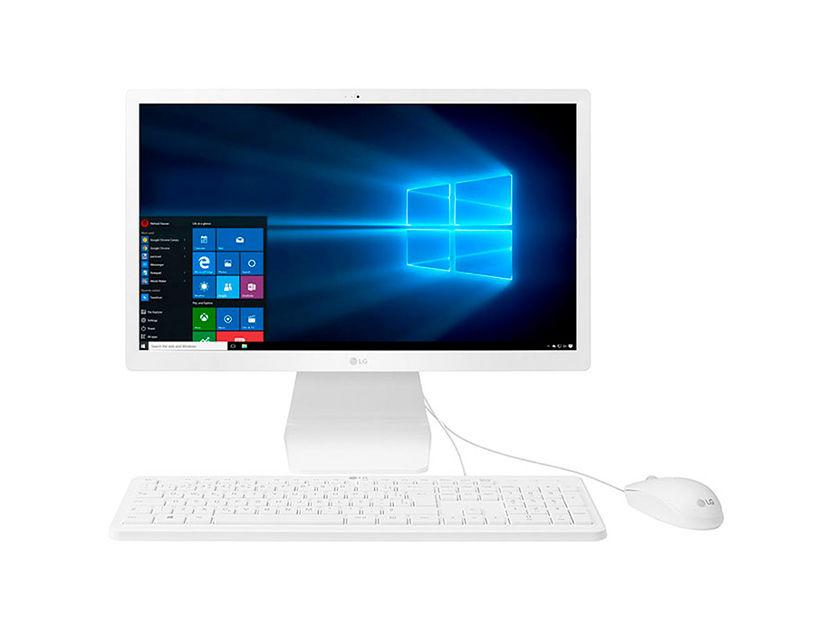 "PC TODO EN UNO LG 22V280 N4100 ( 22V280-L.AY24B4 ) 21.5"" - CELERON - 500GB - 4GB - WEBCAM - W10"
