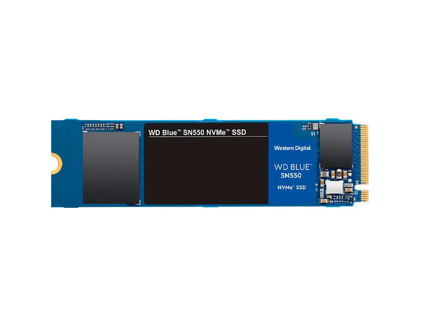 SSD  M.2 SOLIDO WESTER DIGITAL 2280 500GB ( WDS500G2B0C ) SN550 | AZUL | NVME