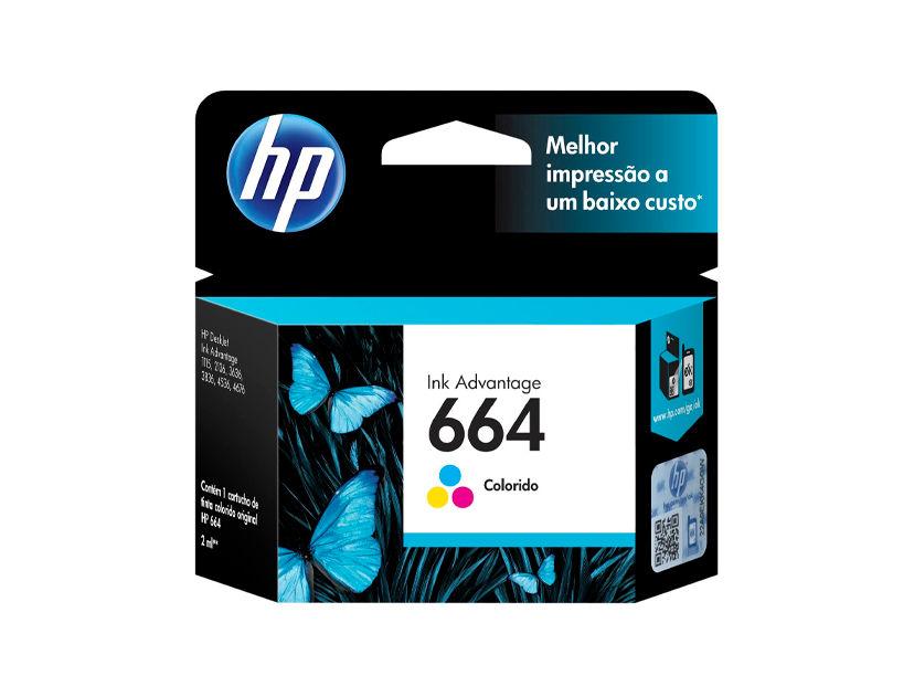CARTUCHO HP  664 ( F6V28AL ) TRICOLOR - 1115 / 3635 / 4535 +