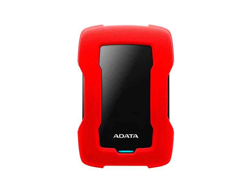 HDD  EXTERNO ADATA 2TB HD330 ( AHD330-2TU31-CRD ) ROJO | ANTI GOLPE