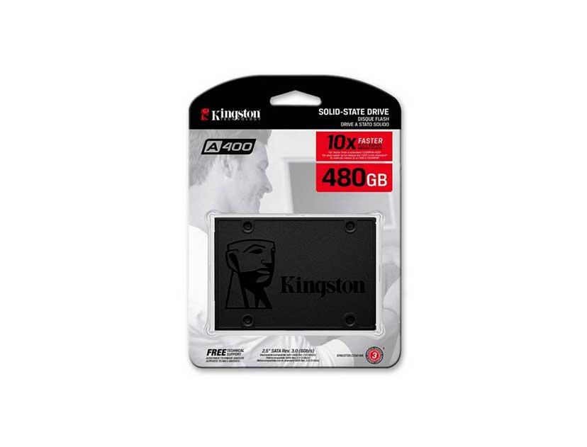 SSD SOLIDO KINGSTON 480GB ( SA400S37/480G ) BLISTER
