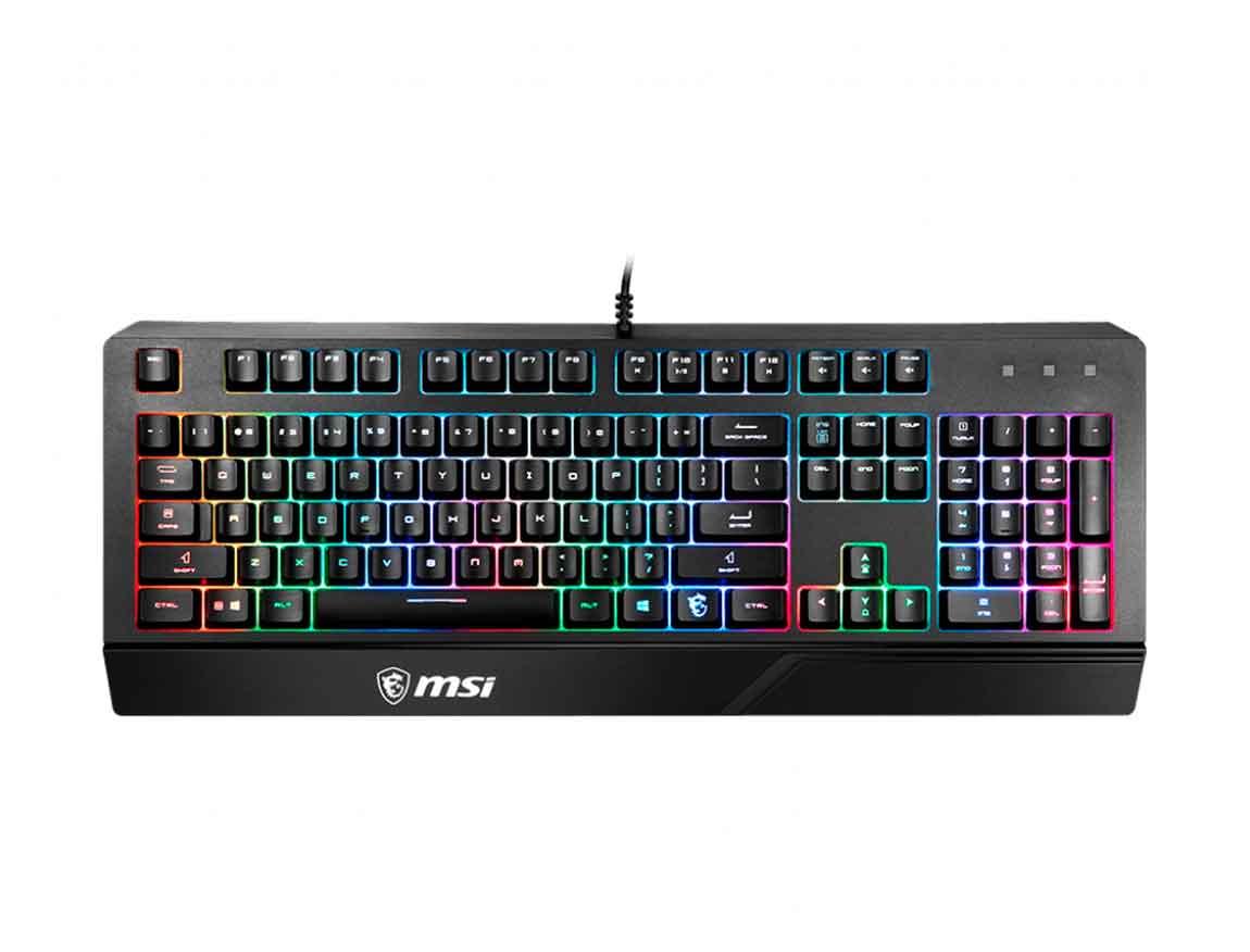 TECLADO MSI VIGOR GK20 ( VIGOR GK20 US ) GAMING | LED- RGB
