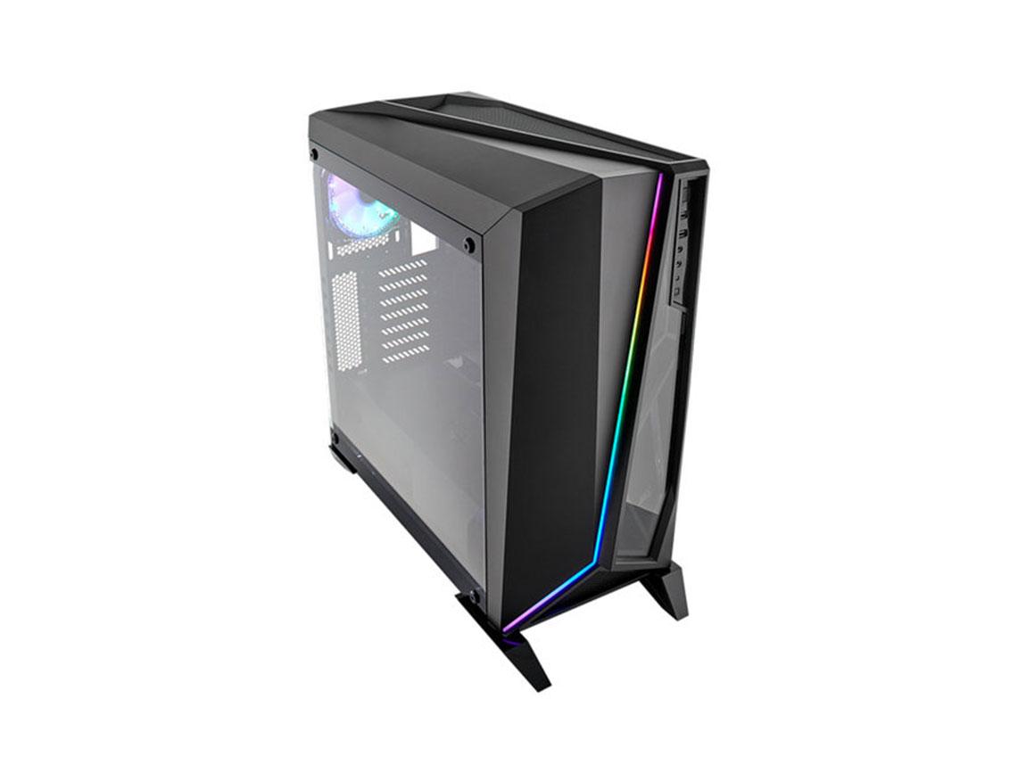 CASE CORSAIR SPEC-OMEGA ( CC-9011140-WW ) S/ FUENTE | NEGRO | 1 PANEL VIDRIO | LED- RGB