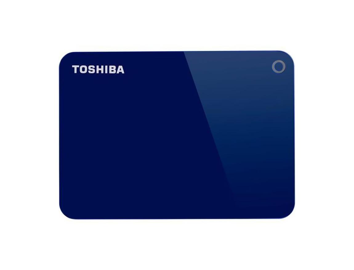 HDD  EXTERNO TOSHIBA 1TB ( HDTC910XL3AA ) CANVIO ADVANCE | AZUL