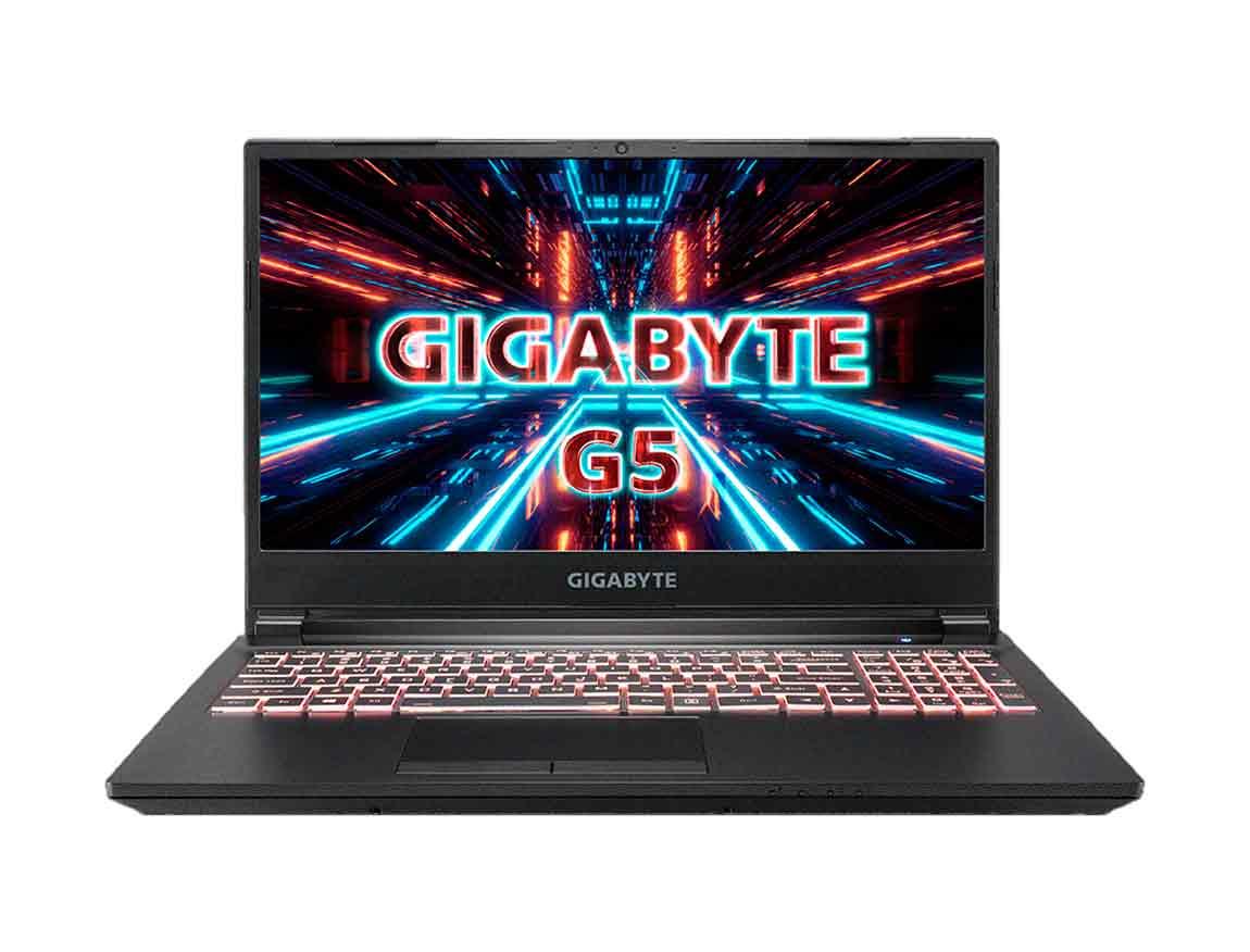 "LAPTOP GIGABYTE G5 KC-5LA2130SH I5-10500H ( 9RC45KC03CE1E1LA000 ) GAMING | 15.6"" - I5 - 512 SSD - 16GB - RTX3060 6G - W10"